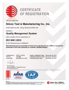 Ericco Certificate of Registration 1697888_QMS_ENG